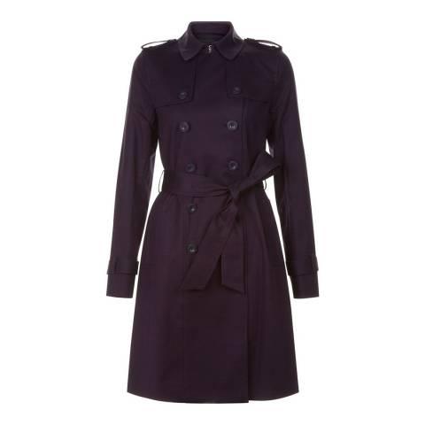 Hobbs London Hollyhock Purple Saskia Trench Coat