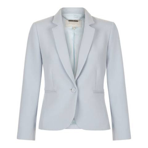 Hobbs London Pearl Blue Carrie Jacket