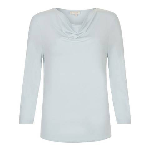 Hobbs London Ice Blue Connie Top