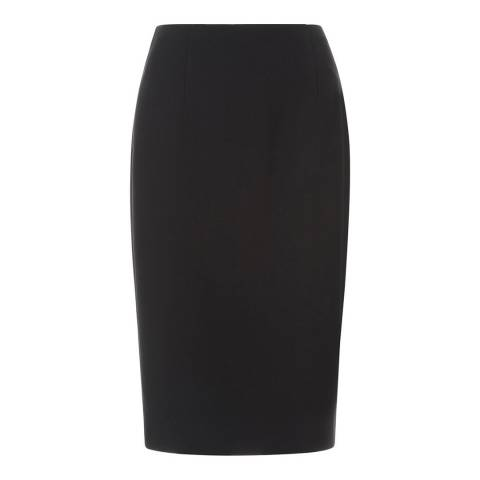 Hobbs London Black Celina Skirt