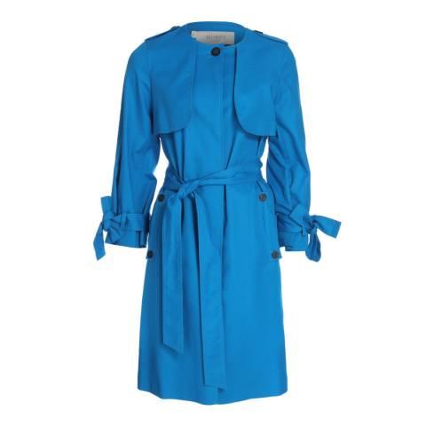 Hobbs London Azure Blue Molly Trench Coat