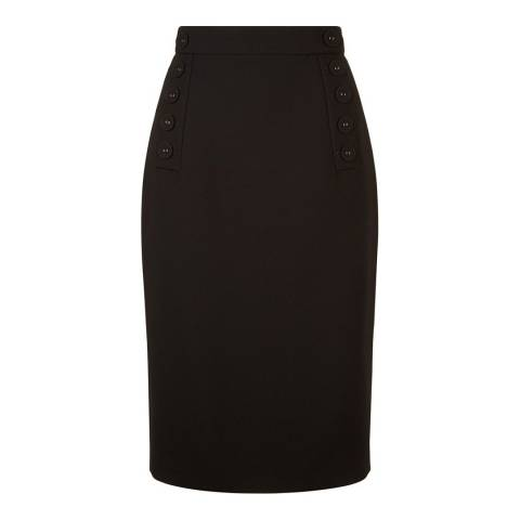 Hobbs London Black Delora Skirt
