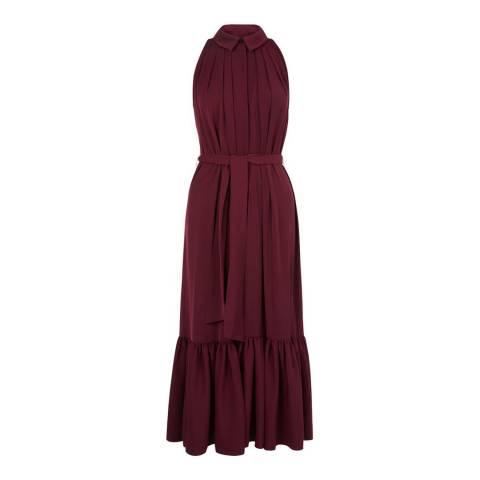 Hobbs London Mulberry Maida Midi Dress