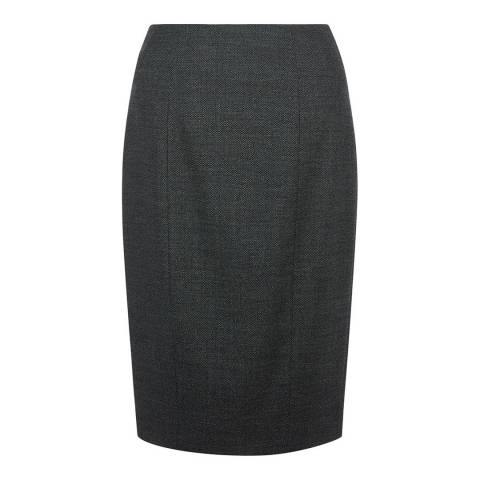Hobbs London Grey Elysa Skirt