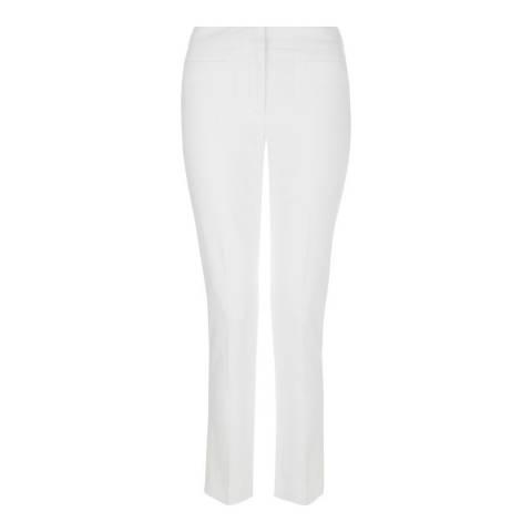Hobbs London White Annie Trousers
