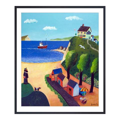 Paragon Prints The Old Sea Dog, Graham Round, Framed Perspex Print 35.6x28cm