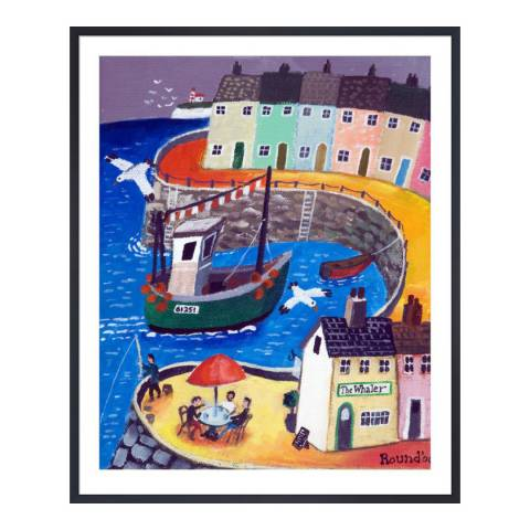 Paragon Prints The Whaler, Graham Round, Framed Print 35.6x28cm