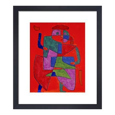 Paragon Prints Der Kunftige, Paul Klee 1933, Framed Perspex Print 36x28cm