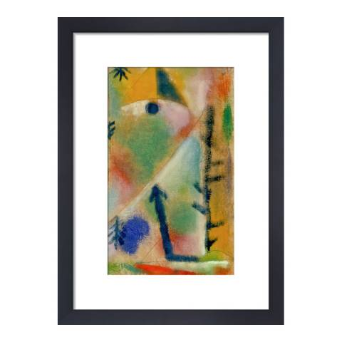 Paul Klee Composition, Paul Klee 1920, Framed Print 36 x 28cm
