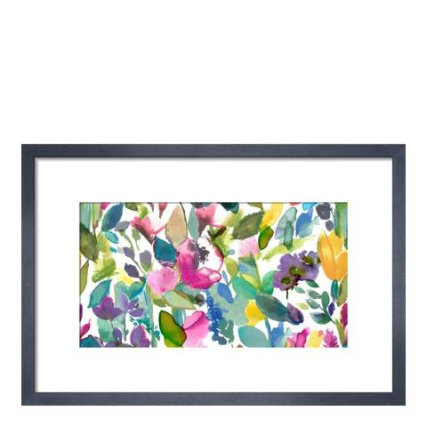 Paragon Prints Mode, bluebellgray, Framed Perspex Print 36x28cm