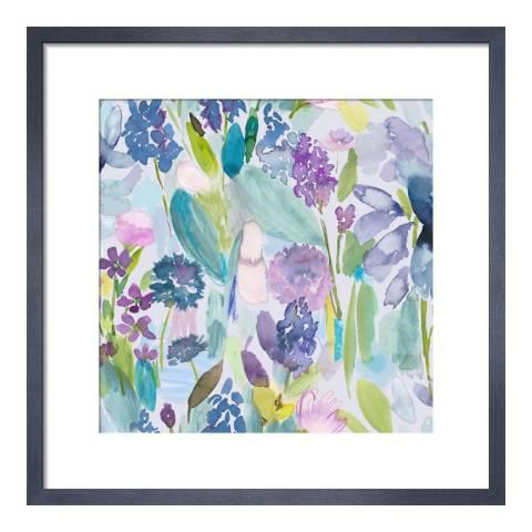 Paragon Prints Nouvelle, bluebellgray, Framed Perspex Print 33x33cm
