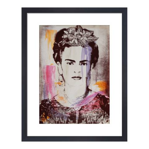 Paragon Prints Frida, Adeline Meilliez, Framed Perspex Print 35.6x28cm