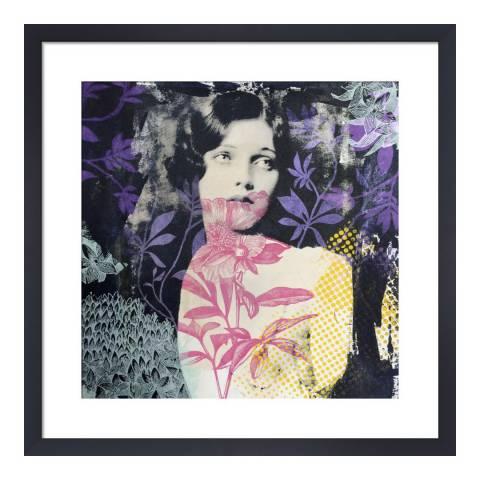 Paragon Prints Paradis, Adeline Meilliez, Framed Perspex Print 33x33cm