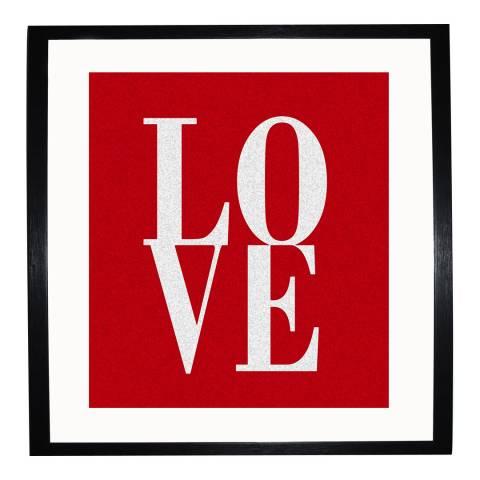 Paragon Prints Love, Chris Sabian, Framed Perspex Print 40x40cm