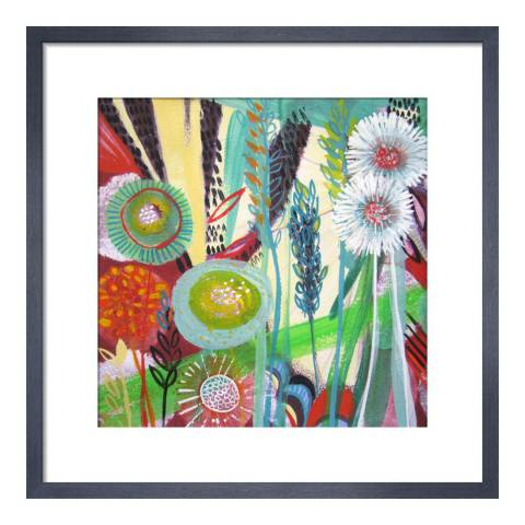 Paragon Prints New Day, Shyama Ruffell, Framed Perspex Print 33x33cm