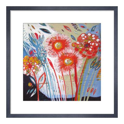 Paragon Prints Little One, Shyama Ruffell, Framed Perspex Print 33x33cm