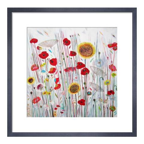Paragon Prints Summer Party, Shyama Ruffell, Framed Print 33x33cm