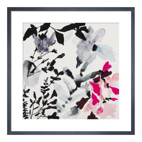 Paragon Prints Moonflower, Jen Garrido, Framed Perspex Print 33x33cm