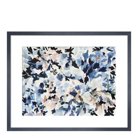 Paragon Prints Black and Blue, Jen Garrido, Framed Print 35.6x28cm