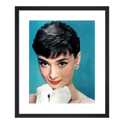 Paragon Prints Audrey Hepburn, Sabrina Hollywood Photo Archive, Framed Perspex Print 35.6x28cm
