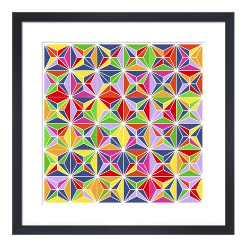 Paragon Prints Bright Point, Simon C Page, Framed Perspex Print 33x33cm