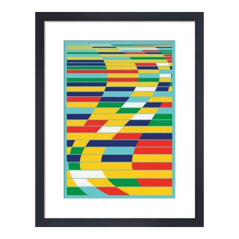 Paragon Prints Insomniac, Simon C Page, Framed Perspex Print 35.6x28cm