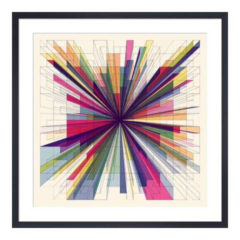 Paragon Prints One Point Perspective, Simon C Page, Framed Print 33x33cm