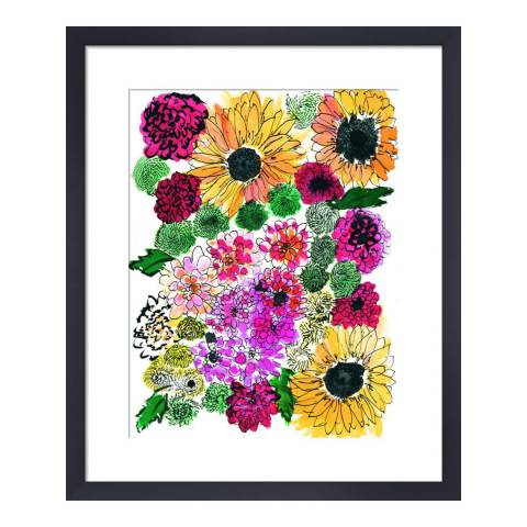 Paragon Prints Fiore, Amy Sia, Framed Print 35.6x28cm