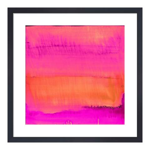 Paragon Prints Sunset, Amy Sia, Framed Perspex Print 33x33cm