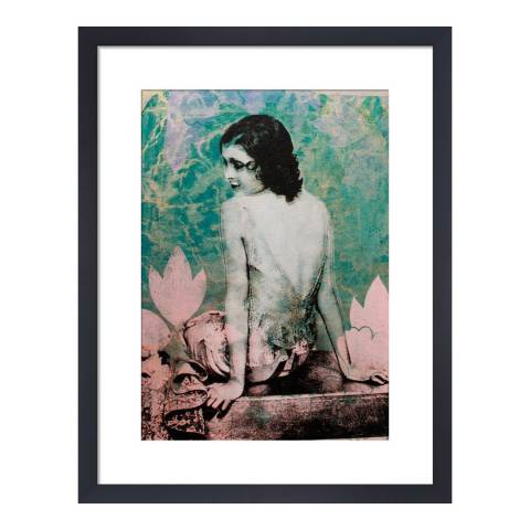 Paragon Prints Lorette, Adeline Meilliez, Framed Perspex Print 35.6x28cm
