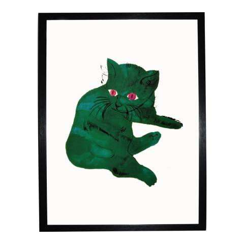 Andy Warhol Green Cat c. 1954 36x28cm