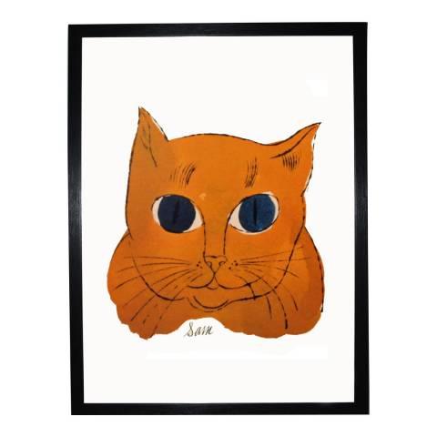 Andy Warhol Gold Sam c. 1954 36x28cm