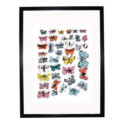 Andy Warhol Butterflies 1955 36x28cm