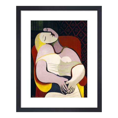 Paragon Prints The Dream, Pablo Picasso 1932, Framed Perspex Print 50x40cm