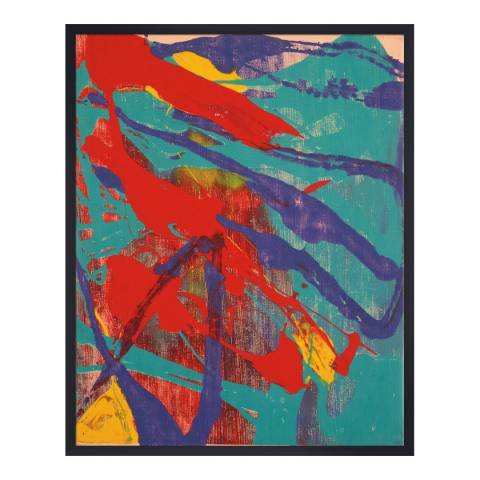 Andy Warhol Abstract Painting 1982 100x80cm