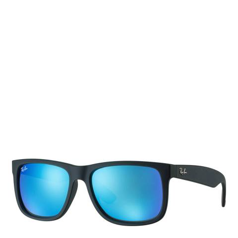 Ray-Ban Unisex Black Rubber Justin Sunglasses 51mm