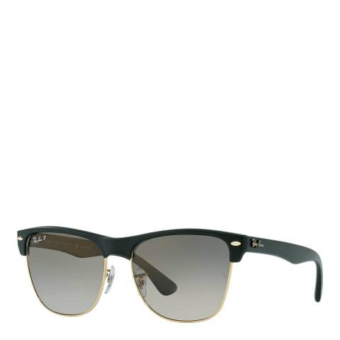 Ray-Ban Unisex Black Oversized Clubmaster Sunglasses 57mm