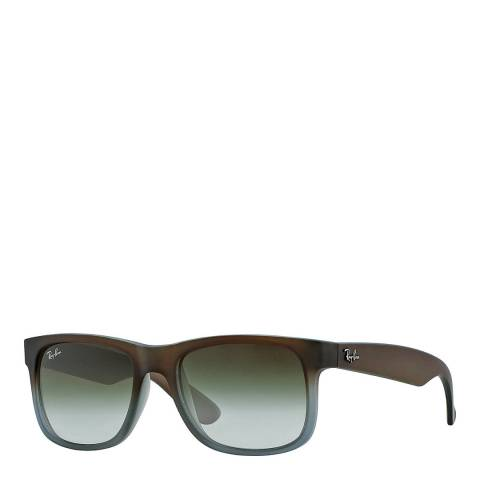 Ray-Ban Unisex Brown Justin Sunglasses 55mm