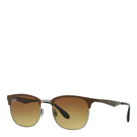 Ray-Ban Unisex Brown High Street Sunglasses 53mm