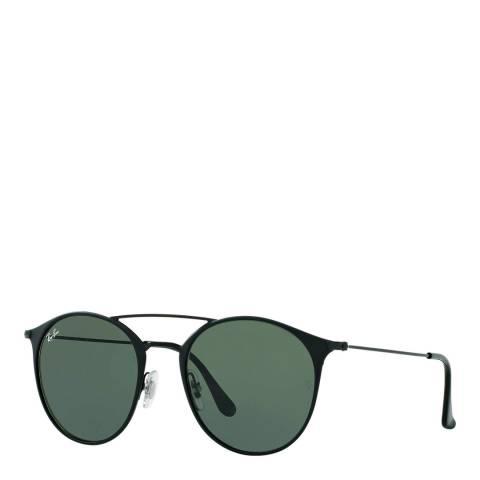 Ray-Ban Unisex Black Double Bridge Sunglasses 49mm