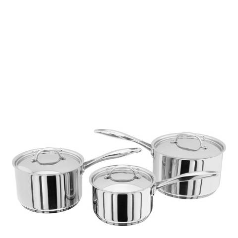 Stellar Set of 3 Saucepans