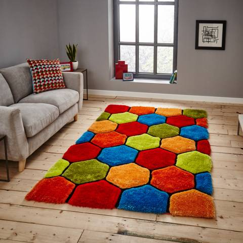 Think Rugs Multi Noble House 150x230cm Rug