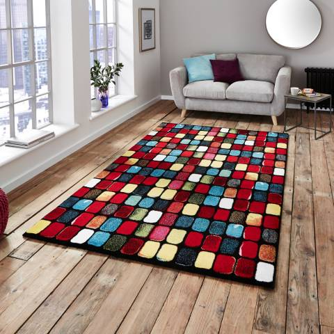 Think Rugs Multi Sunrise 9057A 160x220cm Rug