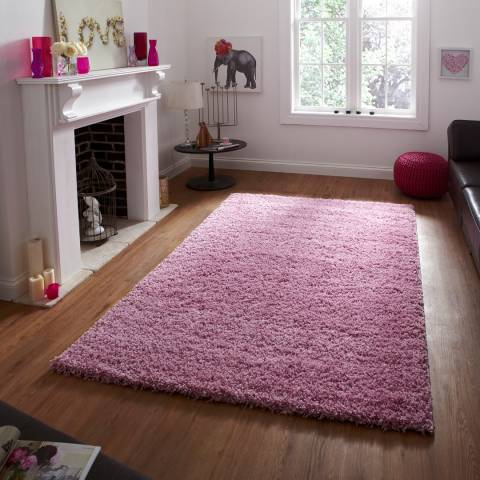 Think Rugs Pink Vista 2236 160x220cm Rug
