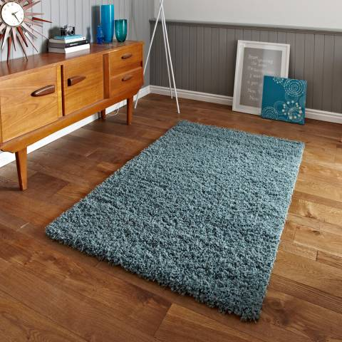 Think Rugs Teal Blue Vista 2236 160x220cm Rug