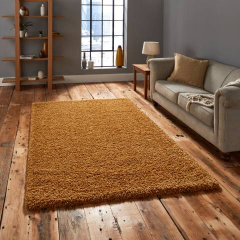 Think Rugs Yellow Vista 2236 160x220cm Rug