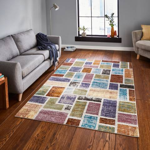 Think Rugs Multi 16th Avenue 160x230cm Rug