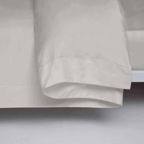 Belledorm Double 1000TC Flat Sheet, Platinum