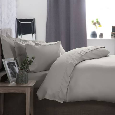 Belledorm Double 1000TC Duvet Cover, Platinum