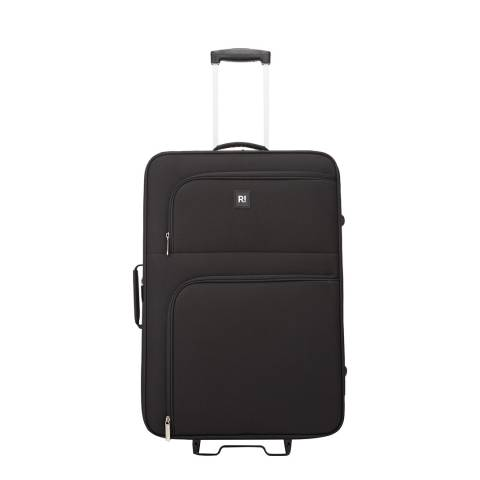 Revelation By Antler Black Alex 2 Wheel Medium Suitcase 66cm